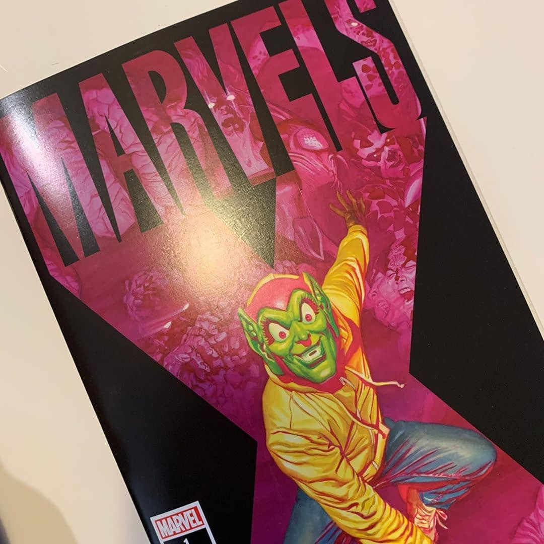 New today – This prequel to Earth X explains how that version of the Marvel universe came into existence through the eyes of David, a superhero loving teen. But will he still love his heroes when everyone has powers? From @thealexrossart, @imjimkrueger & @wellbeeart