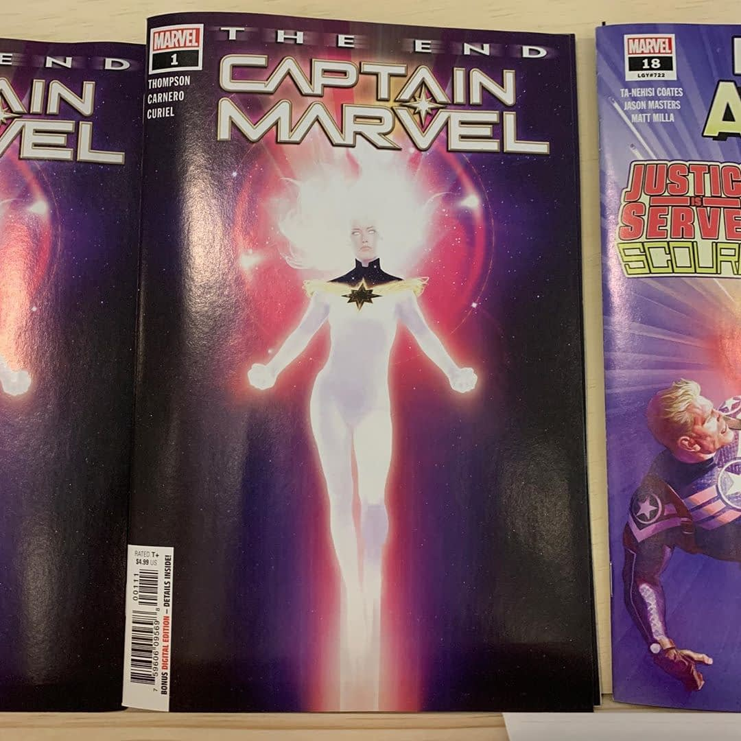 How does it all end for Carol Danvers? Find out this week in a future tale from the universe: The End is out today.
