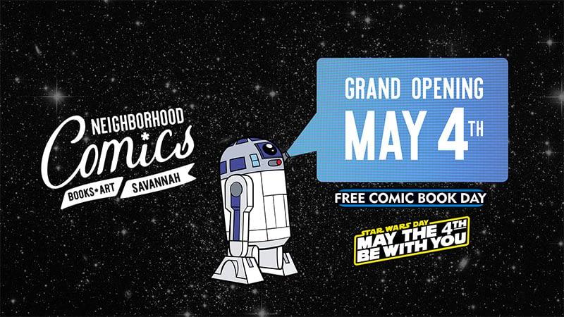 Neighborhood Comics Grand Opening