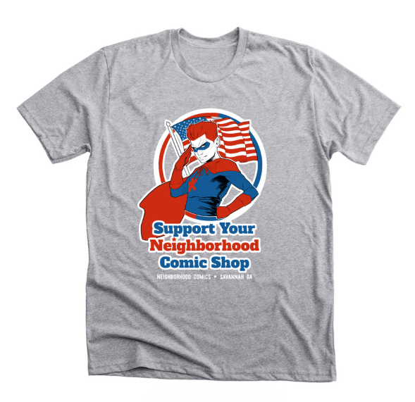 Support Your Neighborhood Comic Shop T-Shirt