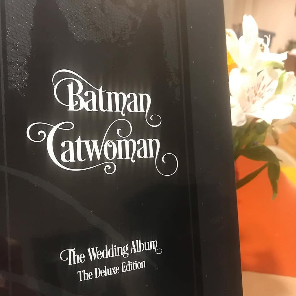 Batman Catwoman Wedding Album