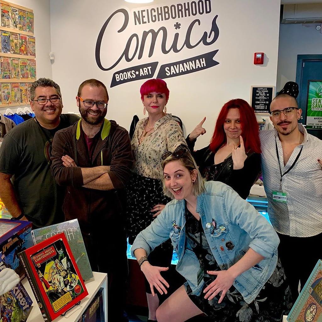 Savannah comic artists