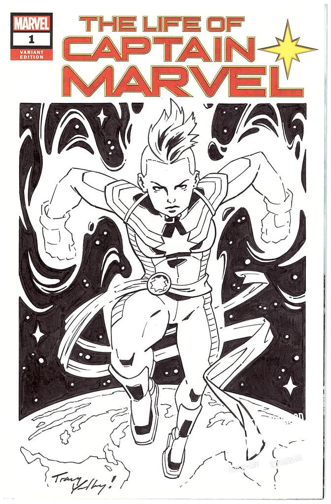 Tracy Yardley - Captain Marvel