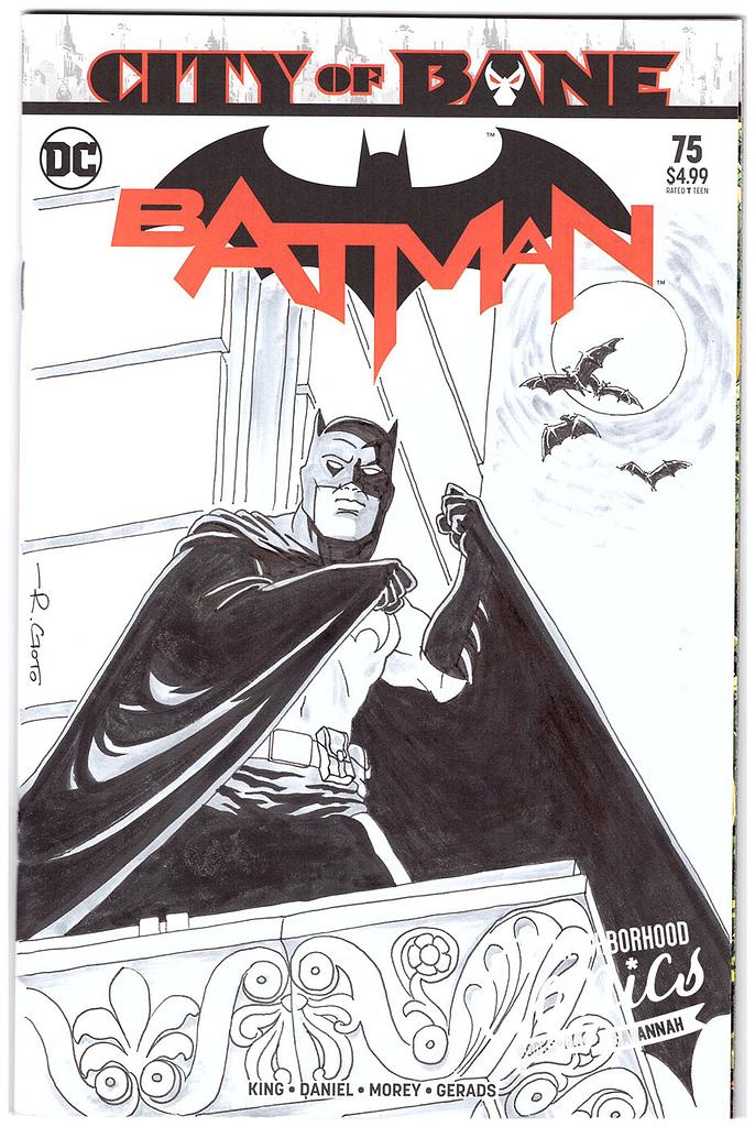 Ray Goto Batman