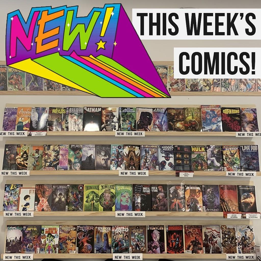 new comics 3 25 20