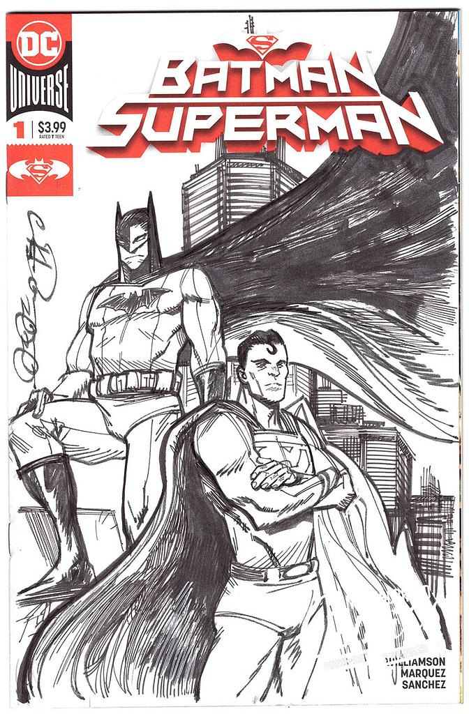 Eryk Donovan - Batman/Superman
