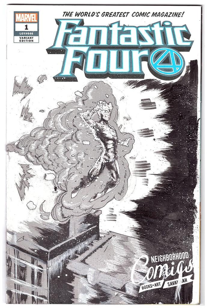 Isaac Edwards - Fantastic Four