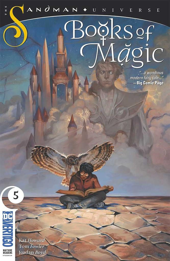 books of magic number 5