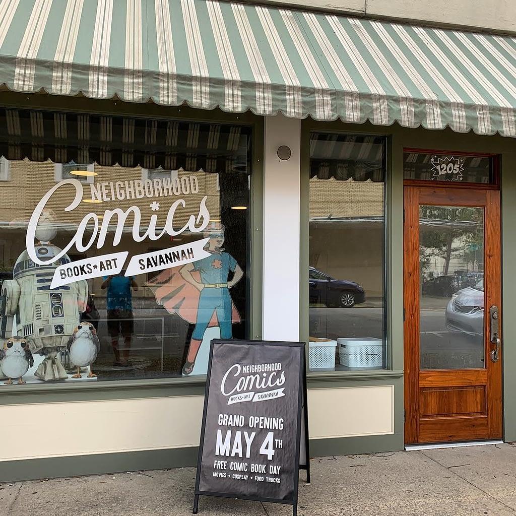 grand opening comic store savannah