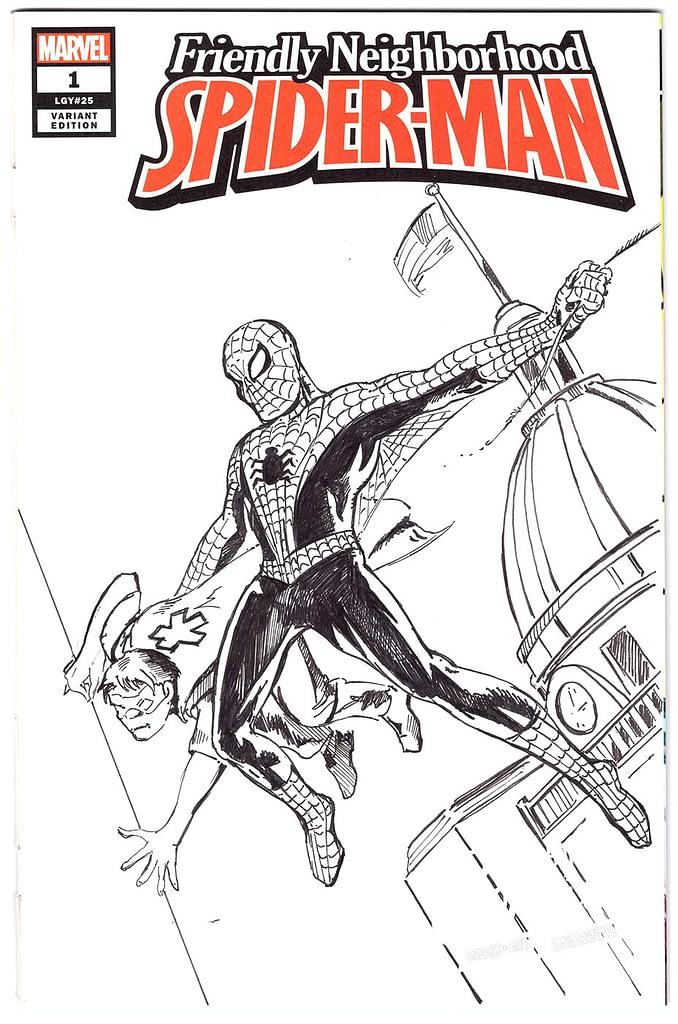 Raymond Gaddy Spiderman