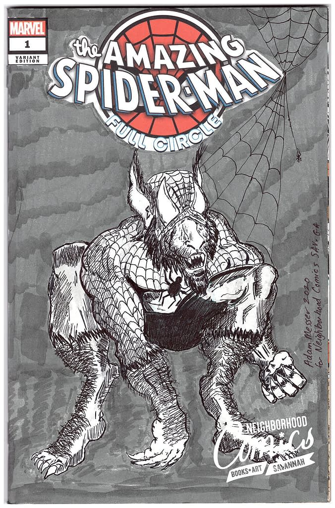 Adam Messer - Spider-Man