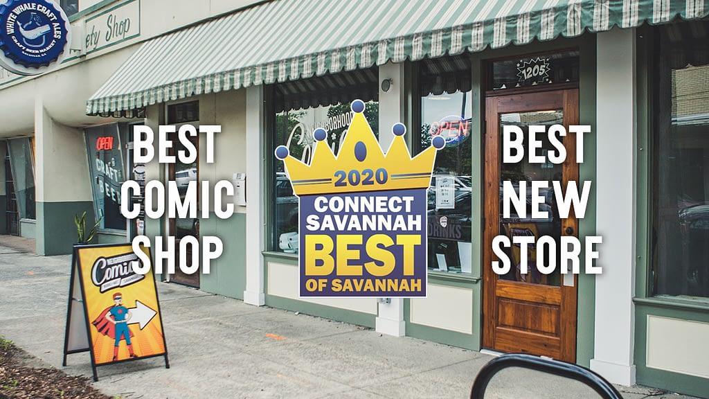 best comic store savannah