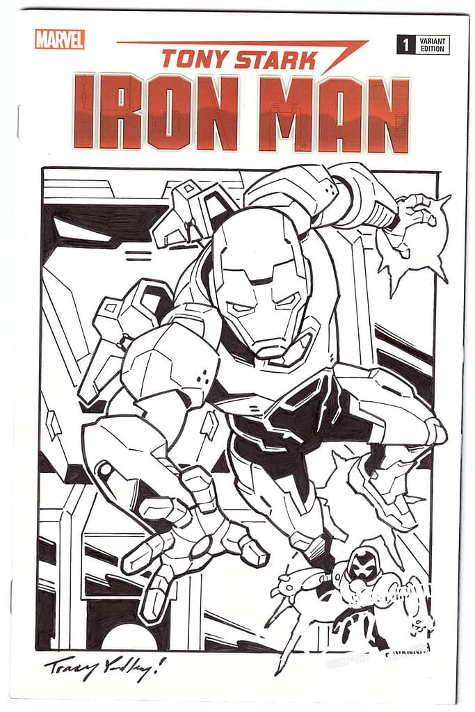 Tracy Yardley - Iron Man