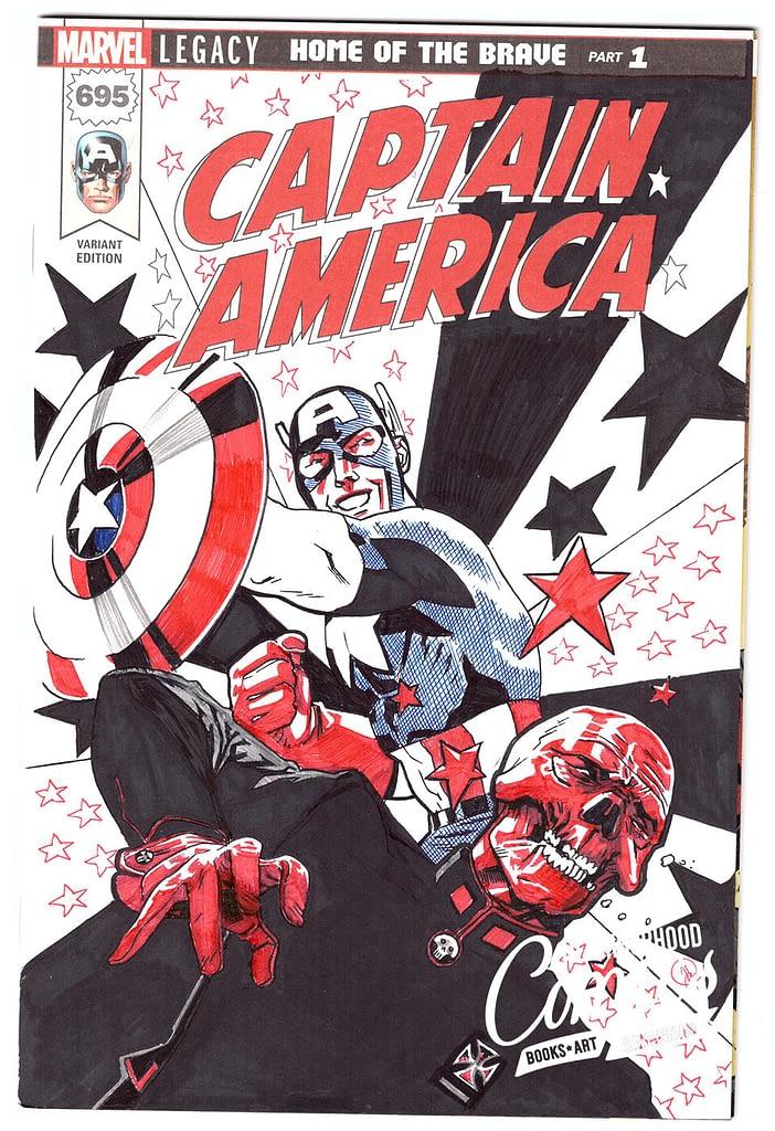 Joshua Hood - Captain America