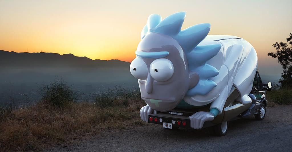 Rickmobile Rick & Morty Savannah GA