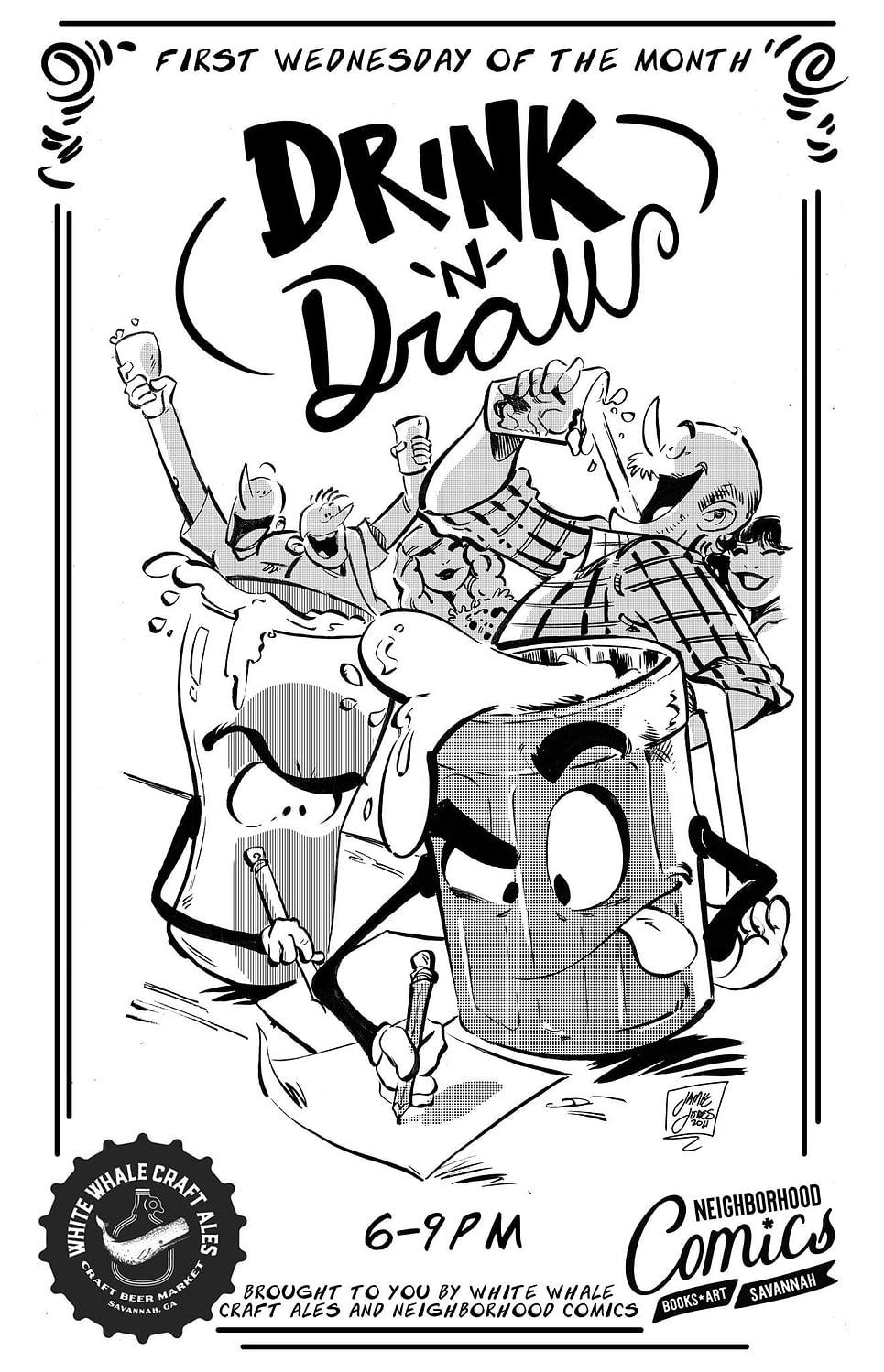 Neighborhood Drink N Draw