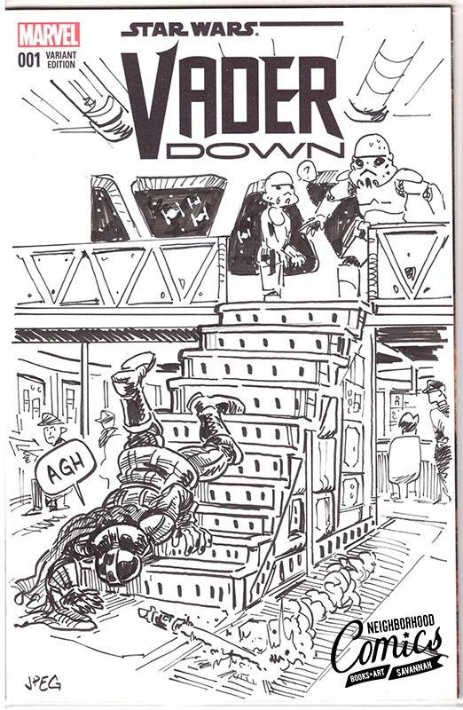 Comic Book Sketch Covers John Golden