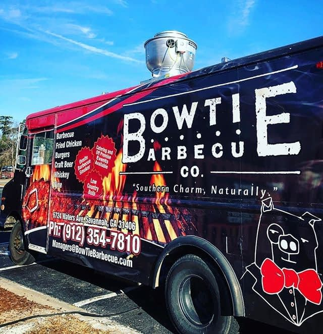 The @bowtiebarbecueco food truck will be at our August 4 popup at @whitewhalesav! Comics, beer and BBQ… Can't wait!