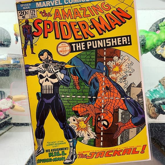 We have issues! Back issues that is. Now available: Amazing Spider-Man 129, featuring the debut of The. Contact us to schedule an in-person look.
