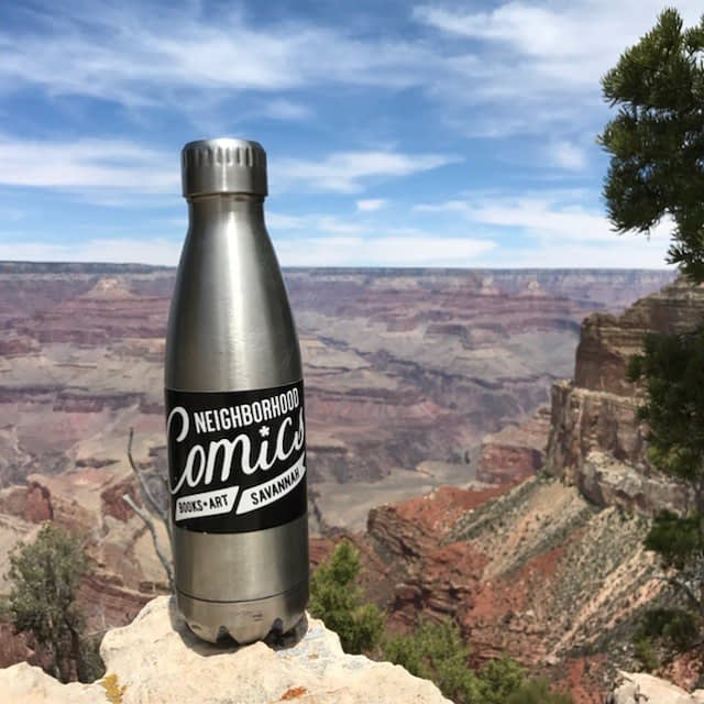Hey look! We're at the Grand Canyon! Thanks for the photo, Raymond!