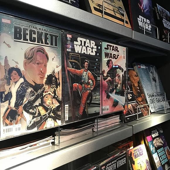 It's great to see promoting comics in its park stores. Who knows how many kids picking these up as (relatively cheap!) souvenirs will go home to seek out their local comic shop? * More at NeighborhoodComics.com