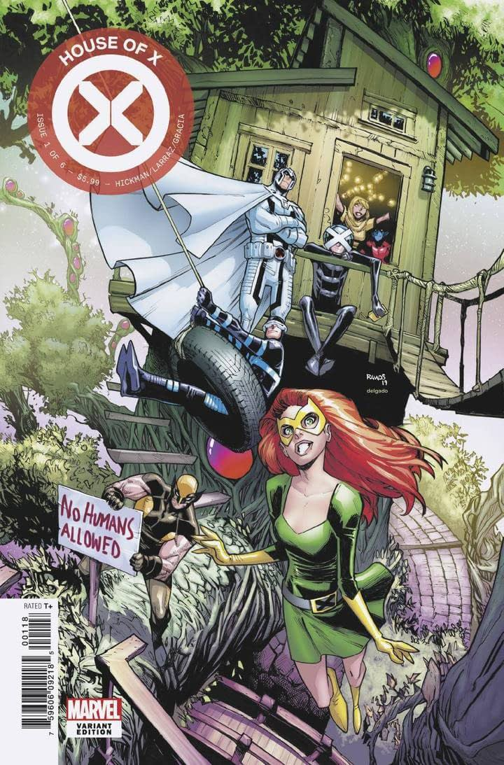 house of x #1 party variant