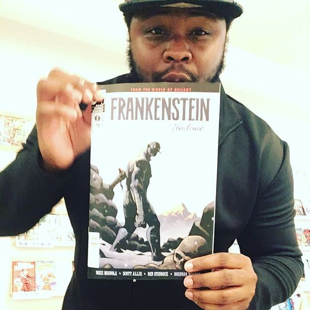 Edwin's pick of the week is Frankenstein Undone! The latest entry in the universe is on our shelf now. Get caught up quick with issues 1 and 2